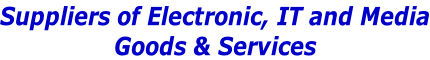 Suppliers of Electronic, IT and Media Goods & Services
